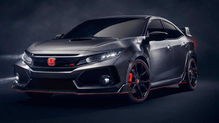 Highlights from the Paris Motor Show 2016 - Honda Civic Type R - Yorkshire Fleet