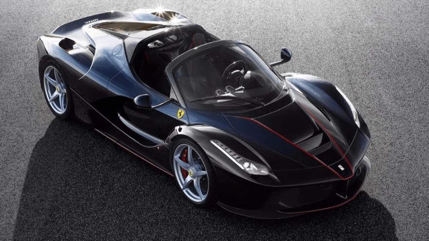 Highlights from the Paris Motor Show 2016 - Ferrari Aperta - Yorkshire Fleet