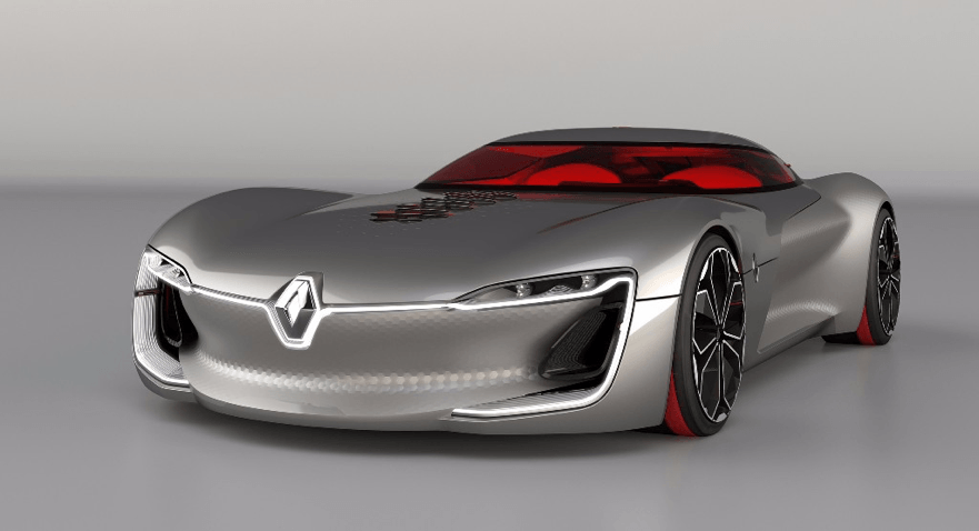 Highlights from the Paris Motor Show 2016 - Renault Trezor (Concept Car) - Yorkshire Fleet