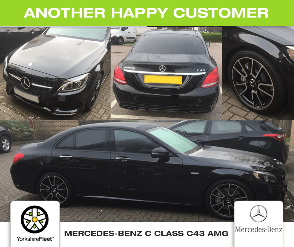 Mercedes-Benz C Class C43 AMG Saloon - Customer Testimonial - Yorkshire Fleet
