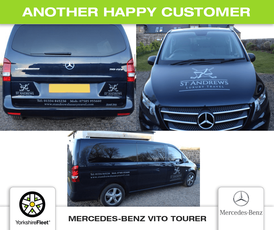 Mercedes-Benz Vito Tourer - Customer Testimonial - Yorkshire Fleet