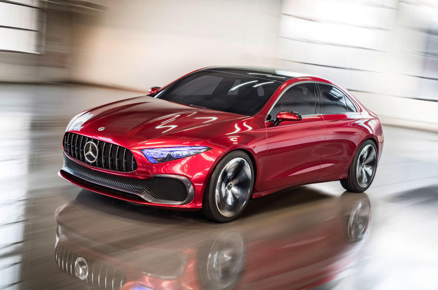 Mercedes-Benz Concept A Saloon - Yorkshire Fleet