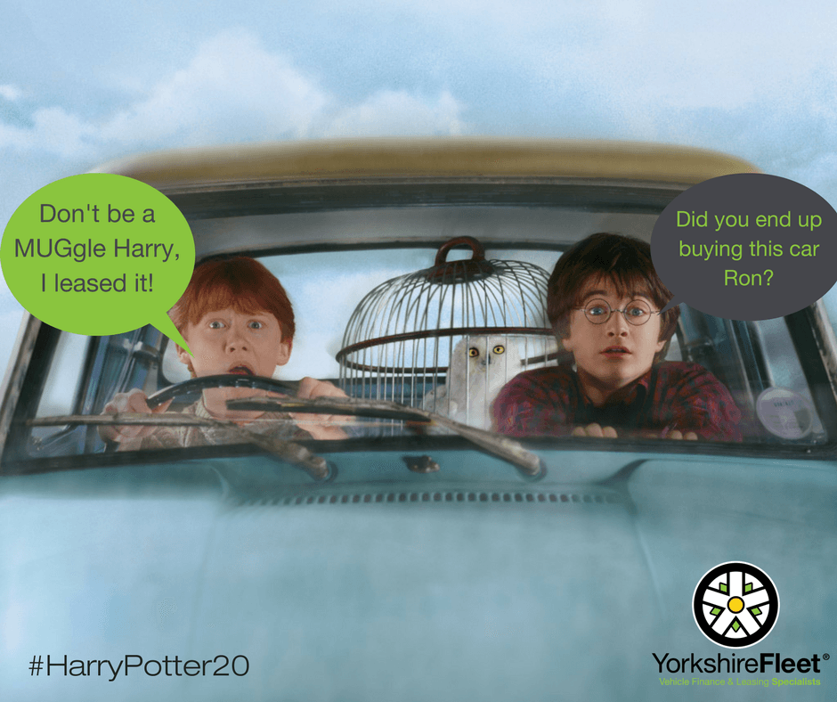 Harry Potter Turns 20 (Twitter Image) - Yorkshire Fleet