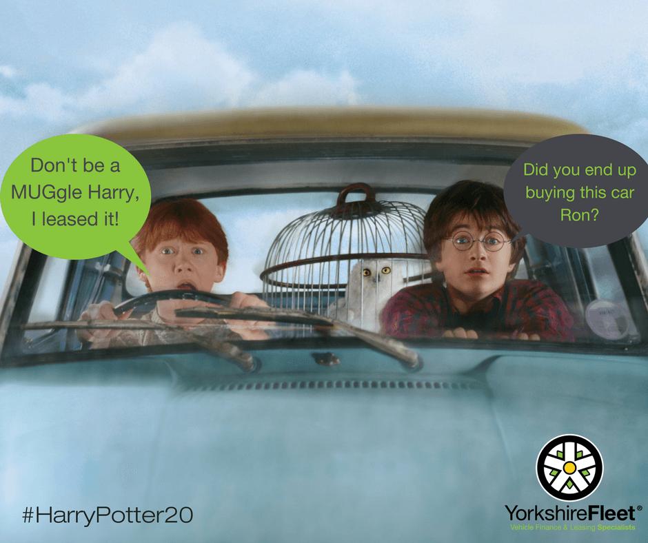 Harry Potter Turns 20 (Twitter Image) - Yorkshire Fleet