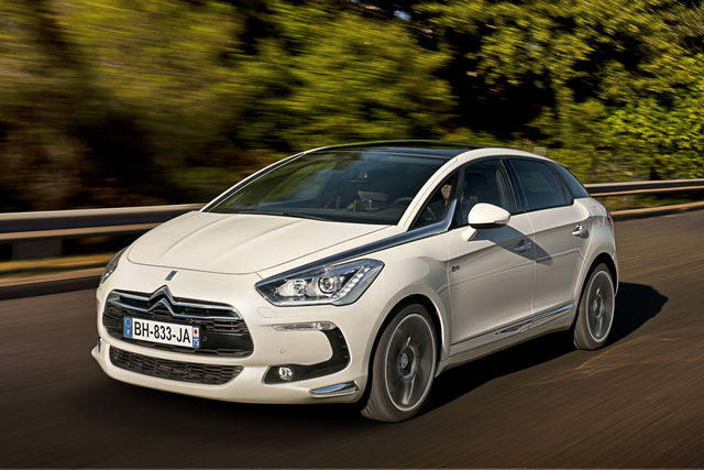 Citroen DS5 - Yorkshire Fleet
