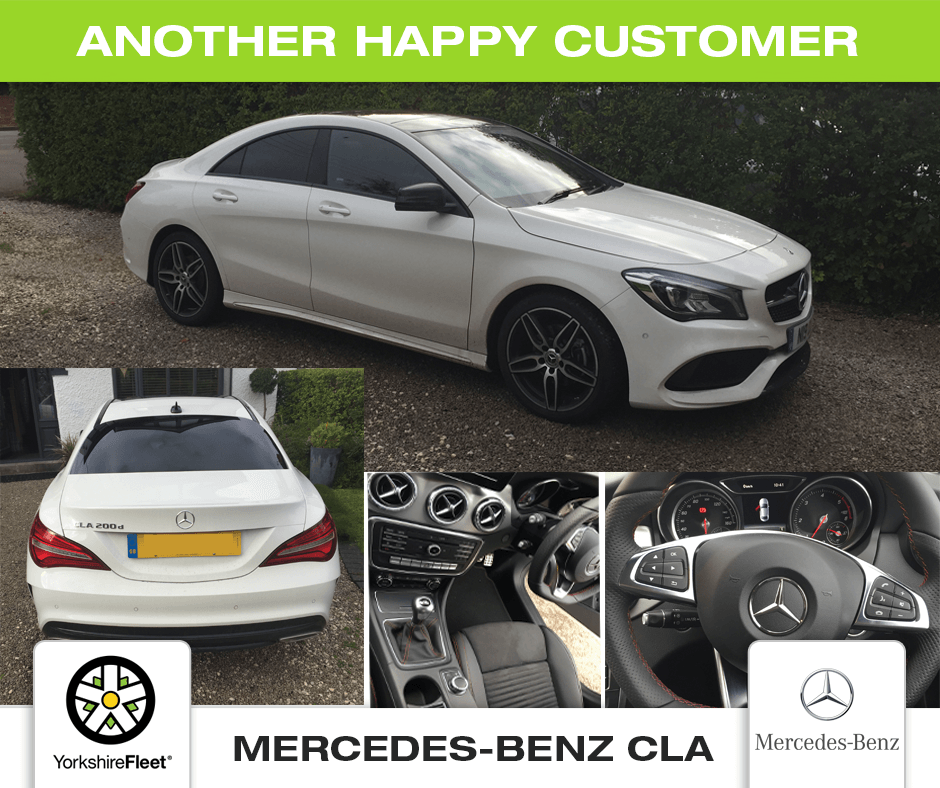 Mercedes-Benz CLA - Customer Testimonial - Yorkshire Fleet