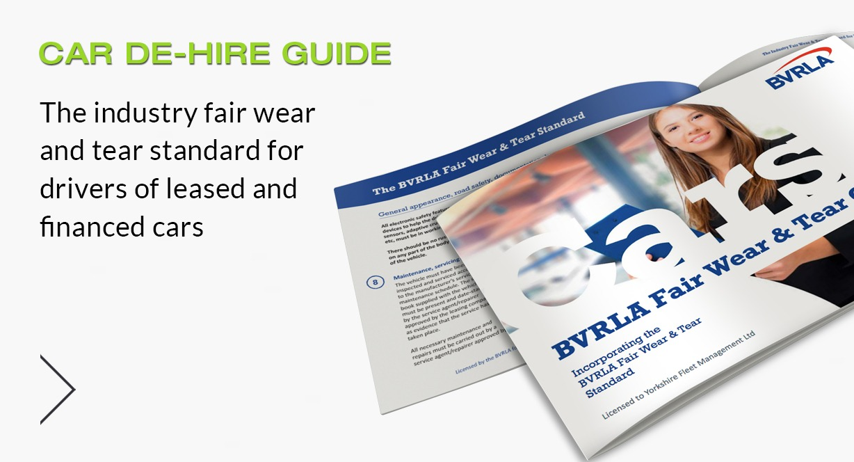 View our BVRLA Car De-Hire Guide By Clicking Here - Yorkshire Fleet